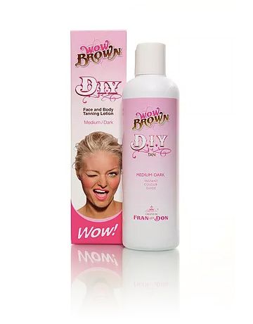 Wow Brown DIY Self Tanning Lotion Medium-Dark