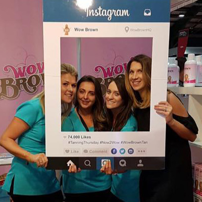 Wow Brown at Professional Beauty Ireland